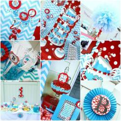 Dr+Seuss+Baby+Shower+Ideas | Dr Seuss Baby Shower Ideas Invitaitons - Baby Showers - Zimbio: Babies Babyshower, Dr. Seuss Baby Shower Ideas, Babyshower Twins, Twin Baby Shower Ideas Theme, Twins Baby Shower Ideas, Dr Suess Baby Shower Ideas, Twin Babyshow