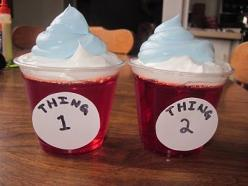 Dr. Seuss Birthday Party Food: 1St Birthday, Seuss Birthday, Seuss Party, Thing 1, Birthday Celebrations, Dr. Seuss, Party Ideas, Dr Seuss, Birthday Party