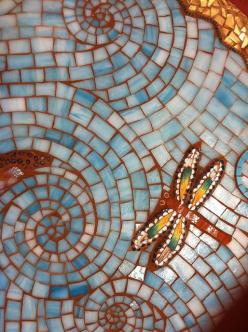 dragonflies ~ infatuated: Dragonfly Mosaics, Butterflies Dragonflies, Dragonfly Art, Mosaic Dragonfly, Mosaic Dragonflies, Dragonflies For Luck, Dragonflies Mosaic, Dragon Fly Mosaic, Dragonflies Art