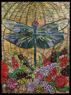 Dragonfly Art Nouveau Stained Glass ¥¥¥¥¥¥¥¥¥¥¥¥¥¥¥¥¥¥¥¥¥¥¥¥¥¥¥¥¥¥ WE MISS YOU MATT  :( :( :(   !!!!!!!!!!!: Glass Art, Dragonfly Art, Art Nouveau, Stained Glass, Dragonflies