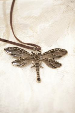 Dragonfly Pendant via Etsy.: Dragonflies Libellules, Dragonflies Fireflies, Dragonflies 3, Dragonflies Carefree, Antique Brass, All Things Dragonflies, Beading Dragonflies