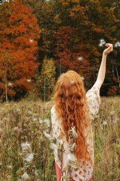 !!! Dreaming your dream ... live your life !!! / Please relax.: Style, Red Hair, Autumn, Long Hair, Beauty, Redheads, Redhair, Red Head