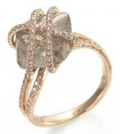 Elegant: Wedding Ring, Diamonds, Uncut Diamond, Raw Diamond, Rough Diamond, Rings, Jewelry, Engagement Ring