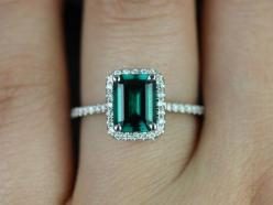 Esmeralda 14kt White Gold Rectangle Emerald and Diamond Halo Engagement Ring (Other Center Stone Available Upon Request) on Etsy, $1,295.00: Emeralds, Emerald Engagement Rings, Gold Rectangle, 14Kt White, Rectangle Emerald, White Gold, Diamond Halo, Halo