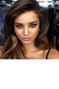 Ever wondered what it's like to be a top model? Well stop wondering, and follow our favorites on Instagram.: Miranda Kerr, Mirandakerr, Face, Make Up, Makeup, Beautiful, Beauty, Hair, Eye
