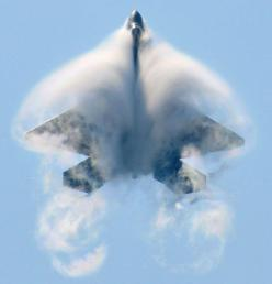 F-22 enclosed by vapour: Aviation, F 22 Raptor, Airplanes, Aircraft, F22, Jet, Fighter, Raptors, Military