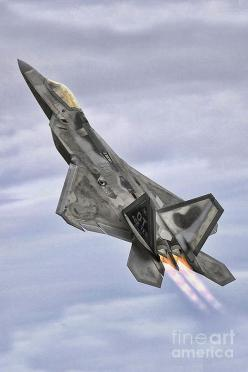 F-22 Raptor - One of the coolest looking Military Jets since the SR-71: Military Jet, F 22 Raptor, Air Force, Aircraft, F22, Military Plane, Military Airplane
