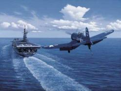 F-4 Corsair landing on an aircraft carrier near the Phillippines.: F 4 Corsair, Corsair Plane, Wwii Planes, Jets Planes, F4U Corsair Braniff, Corsair Landing, Wwii Aircraft, F4U Landing, Aircraft Carriers