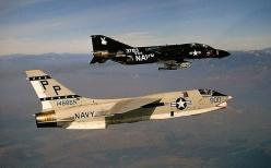 F-8 & F-4 #plane #1960s: Fighter Planes, F 4 Phantom, Navy Planes, Modern Planes, Aircraft Aviones, Modern Warplanes, Planes 1960S, Planes Jets Fighters Bombers