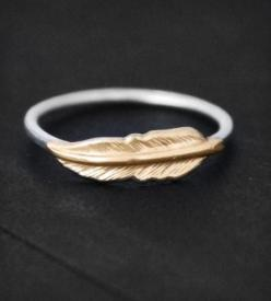 Feather Ring via Scoutmob: Style, Wheeler Jewelry, Jewelry Accessories, Featherring, Nautical Wheeler, Feather Ring, Feathers, Jewelry Rings