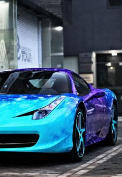 Ferrari 458 I just love the way the colour of the paint shimmers on the car!: Galaxy Ferrari, Cars Motorcycles, Ferrari 458, Luxury Cars, Future Car, Dream Cars, Sexy Cars