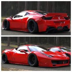Ferrari 458 Widebody is gorgeous!: Sports Cars, Ferrari 458, Dream Cars, Cars Ferrari, Exotic Supercars, 458 Widebody