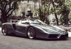 Ferrari Enzo on different wheels in the right colour...becomes a hell of a looker in addition to a performer.: Supercar, Exotic Car, Sport Cars, Ferrarienzo, Posts, Super Cars, Auto, Ferrari Enzo