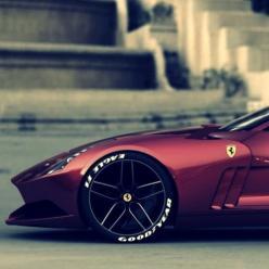 Ferrari - Wheels and tires shall always fill the wheel well.: Sports Cars, Ferrari, Vroom Vroom, Dream Cars, Auto, 612 Gto