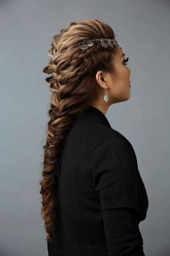 Finish the French braid mohawk hairstyle with a flexible hold hairspray: Braided Mohawk Hairstyles, French Braids, Braids Hairstyles, Braid Mohawk Hairstyle, French Braid Hairstyles, Beautiful Hairstyles, French Braid Mohawk, Hairstyles Braids