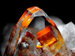First prize in the Lapis 2011 photo contest went to this Eddy Van Der Meersche photo of a 10 mm wide Fluorite in Barite. Stunning!: Crystals Gems Minerals Rocks, Crystal Gems Rock Minerals, Gems Minerals Crystals Rocks, Crystals Minerals Gemstones, Gemsto