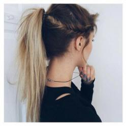 : Fish Tail, Messy Ponytail, Hairstyles, Side Fishtail, Hair Goals, Fishtail Ponytail, Fishtail Braids, Hair Style, Lazy Girl