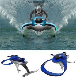 Fluid Designs: 12 (More) Water Vehicles to Float Your Boat | WebUrbanist: Watercraft Concept, Jet Ski, Dolphins, Future, Boats, Vehicle, Jetski, Personal Watercraft, Dolphin Hydrofoil