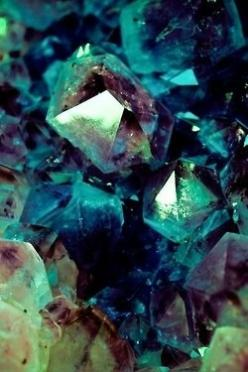 Fluorite is the mineral form of calcium fluoride, CaF₂. It belongs to the halide minerals. It crystallizes in isometric cubic habit, although octahedral and more complex isometric forms are not uncommon.: Crystals, Gems, Purple, Nature, Color, Wallpaper,