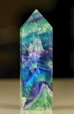 Fluorite. Often called the most colorful mineral in the world. Gives its name to fluorescence, it absorbs then emits light. It is also thermoluminesent, it re-emits absorbed light when heated.: Crystals, Gemstones, Gem Stones, Mineral, Color, Rock