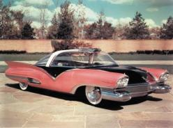 ".Ford Mystere. Mid-50s ""dream car"".  Larger Lincoln Futura version was all black and was modified into the '60s TV series' Batmobile by California customizer George Barris.: Ford Mystere, Mystere Concept, Classic Cars, Vintage Cars, Concep"