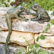 Frog Garden Sculptures: Garden Ideas, Garden Art, Outdoor, Gardening, Gardens, Garden Sculptures, Frogs