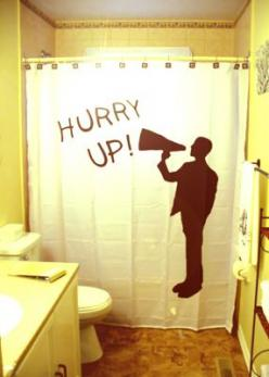 Funny Shower Curtains: Showers, Cute Shower Curtains, Funny Shower Curtains, Life, Funnies, Bathroom Ideas, Bathroom Decor, Bathroom Style, Curtain Funny