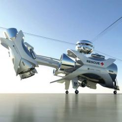 Futuristic Surveillance Helicopters - This Aerial Rescue Chopper is an Advanced Multipurpose Machine (GALLERY): Arc Aerial Rescue Chopper, Future, Concept Aircraft, Concept Vehicles, Airplanes Helicopters, Machine, Surveillance Helicopters, Photo, Design