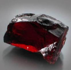 Garnet.Is said to strengthen the heart. Strengthens the memory. In passionate people it can release negative energy. It symbolizes constructiveness. Brings hope to people. Garnet is believed to have an energizing effect on ones sex life. The otherwise dul