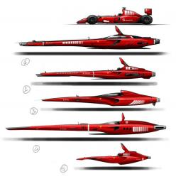 Geeky, artsy cool: Spaceship #Ferrari by Vincent-Montreuil on DeviantArt: Ferrari Spaceship, Spaceship Ferrari, Sketching Spaceships, Futuristic Ferrari, Spaceship Design, Spaceship Concept, Fictional Spaceship, Concepts Vehicles