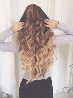 Get longer hair in seconds with the help of Remy Clips clip-in Hair Extensions! Visit us today at www.remyclips.com: Hairstyles, Hair Styles, Hair Goals, Makeup, Long Hair, We Heart It, Longhair, Hair Color