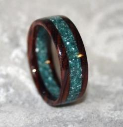 #gift ~ very beautiful & unusual non-traditional wedding rings ~ http://www.weddingwindow.com/blog/non-traditional-wedding-rings/: Corian Ring, Wedding Ring, Style, Corian Wedding, Wood Rings, Jewelry, Wooden Rings, Wedding Bands, Engagement Ring