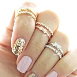 girlsluv.it - ribbon knuckle ring, crystals $16: Crystals, Atk Rings, Style, Ribbons, Knuckle Rings 3, Ribbon Knuckle, Fashion Rings Knuckle, Rings Images