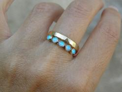 Gold and Opal ring Recycled 14k Gold and Opal stones by OritNaar: Opals Rings, Opal Rings, 14K Gold, Jewelry Ring Wedding Opal, Gold Opal Ring, Wedding Band, Gold Rings, Opal Wedding Rings, Engagement Rings