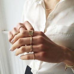 Gold rings: Fashion, Style, Gold Rings, Jewels, Finger, Accessories, Gold Jewelry