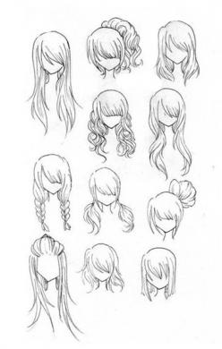 Good hair movement they look realistic in a comic sort of way: Sketch, Drawings, Hairstyles, Art Drawing, Hair Styles, Hair Drawing, Drawing Hair, To Draw