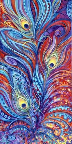 Google Image Result for http://a2.ec-images.myspacecdn.com/images02/123/010961de5e544b6482ba2c6a3a4340b5/l.jpg: Peacock Feathers, Iphone Wallpapers, Ideas, Style, Color, Art, Painting, Peacocks Feathers