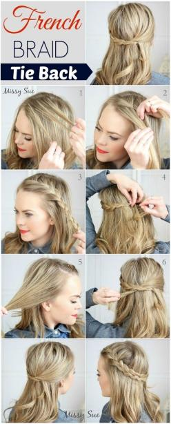 Gorgeous hair idea for blonde hair! Recreate this look using hair products from Beauty.com.: French Braids, Hairstyles, Hair Styles, Hairdos, Hair Tutorial