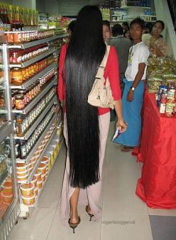 {Grow Lust Worthy Hair FASTER Naturally}>>> www.HairTriggerr.com <<<      In A Lot of Cultures, Hair is a Symbol of Wealth & Social Status....On a Side Note....Can You Imagine How Many Bottles Of Conditioner She Has to Use!!!...lol: