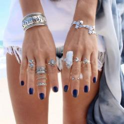 GypsyLovinLight - Dixi rings: Bracelet, Fashion, Jewelry, Rings, Nails, Accessories, Boho Nail