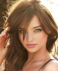 hair color - summer brown: (actually, I think I've seen this color before...oh yeah, it's called just plain BROWN.): Miranda Kerr, Mirandakerr, Hairstyles, State, Hair Styles, Makeup, Haircut, Beauty, Hair Color