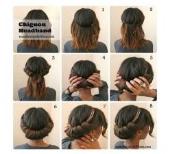Hairstyle For Short Hair: Hair Hack, Idea, Hair Styles, Protective Style, Beauty, Naturalhair, Natural Hairstyles