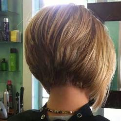 Hairstyle Layered Short Hair Cuts for Women Over 50 - Bing Images: Short Hair, Haircuts, Hairstyles, Hair Styles, Hair Cut, Stacked Bob