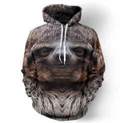 Happy Sloth Hoodie: Sloths, Fashion, Sloth Hoodies, Style, Stuff, Clothes, Things, Products, Happy Sloth