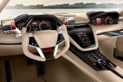 Have you seen anything like this?: Giugiarobrivido, Car Interiors, Vehicle, Auto, Concept Cars, Brivido Concept, Dashboard, Italdesign Giugiaro