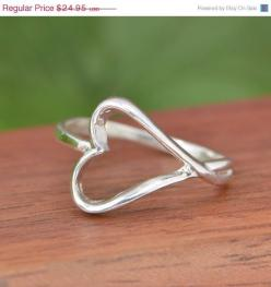 Hey, I found this really awesome Etsy listing at https://www.etsy.com/listing/202686814/sale-sterling-silver-heart-ring-heart: Heart Rings, Sterling Ring, Sterling Silver Hearts, Valentine, Sterlingsilver Heartring, Silver Rings