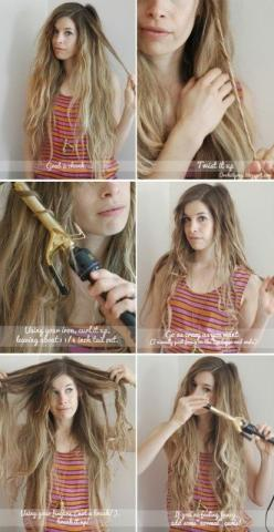 How to do beach waves by p.paula: Beach Waves, Hair Dos, Hairstyles, Waves 2 0, Hair Styles, Hair Makeup, Beachy Waves, Beach Hair