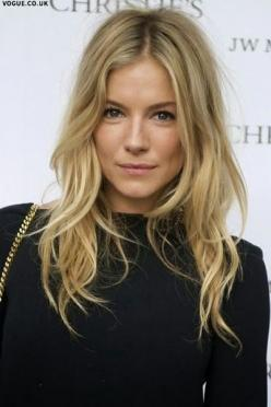 How To Get Natural Waves: Sienna Miller, Hairstyles, Medium To Long Hair Cut, Hair Style, Layered Hairstyle, Haircut, Hair Length, Hair Color, Hair Icon
