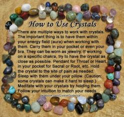 How to Use Crystals-Contact me with any questions or if you're looking for a specific crystal :) https://www.etsy.com/ca/shop/MagickalGoodies: Gemstone, Healing Crystals, Crystals Stones, To Work, Healing Stones, Rock, Crystal Healing, Crystals Healin