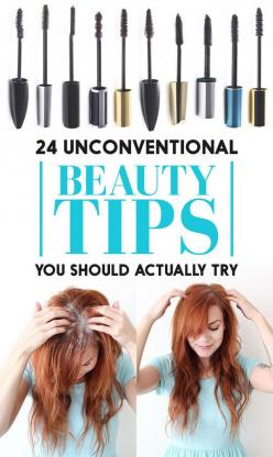 http://www.buzzfeed.com/maitlandquitmeyer/unconventional-beauty-tips-you-should-actually-try-24-unc: Fashion, Beauty Makeup Nails Tips, Makeup Hacks Beauty Secrets, Beautiful, Unconventional Beauty, 24 Beauty, Beautytips Tricks, Beautytips Trix 3, Diy Bea